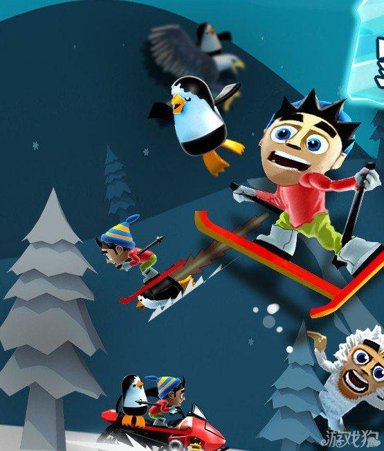 ...滑雪大冒险中国版官方版下载.滑雪大冒险电脑版4399手机游...