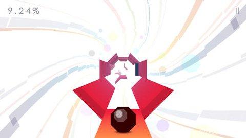 八角滚球登陆iOS 极简主义跑酷游戏1