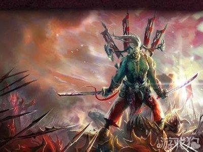 刀塔女神神灵武士英雄图鉴之橙色图片