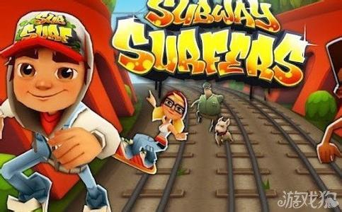 地鐵跑酷玩傢使勁撞墻遊