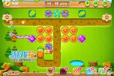 保卫萝卜2第26关攻略 水晶萝卜详细流程8