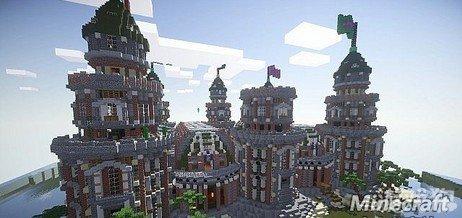 我的世界皮贡城堡图片