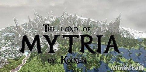 我的世界地图包之mytria生存冒险世界 游戏狗