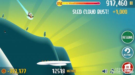 滑雪大冒险攻略新玩法无敌模式无限加速