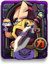 全民英雄龙骑紫卡牌数据大全7