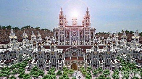 我的世界温妮卡城堡大型建筑分享图片