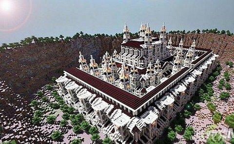 我的世界温妮卡城堡大型建筑分享