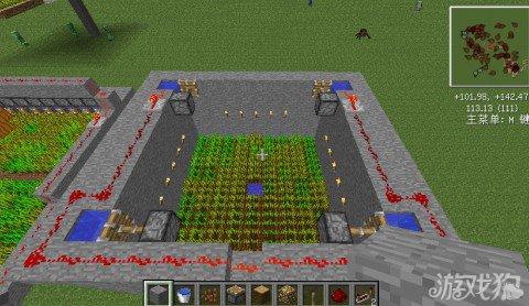 我的世界小麦自动收割教程