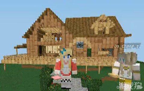 我的基础小视频建筑教程教学_游戏狗我的世界springboot世界木屋图片
