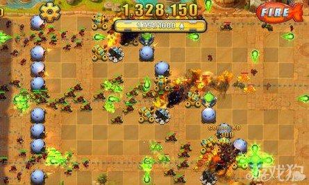坚守阵地2完美75星攻略之沙漠第一关13