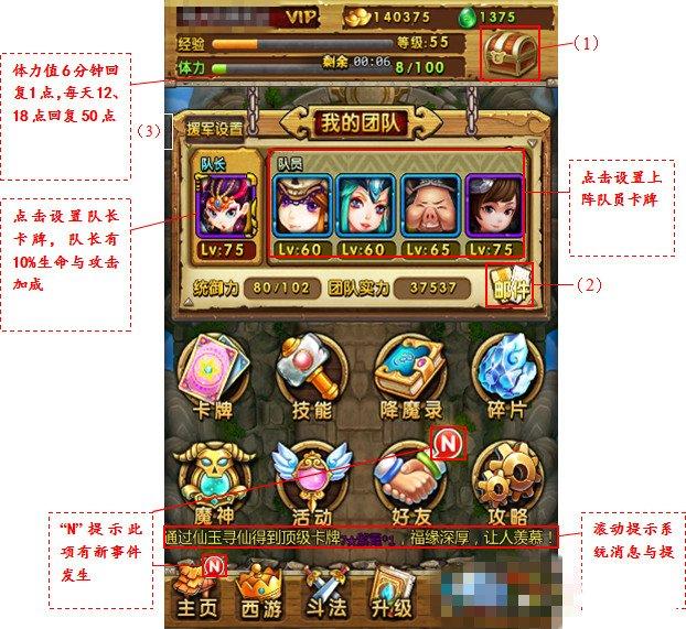 游戏基础知识要点介绍_天天爱西游_游戏狗手机网游