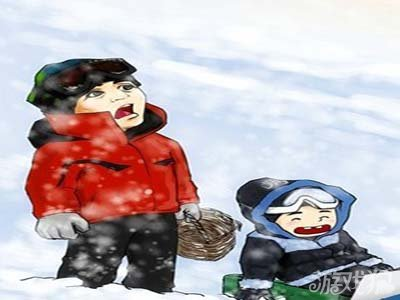 《爸爸去哪儿》q版漫画壁纸下载
