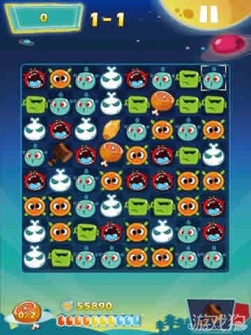 冲击V星上架iOS 三消游戏5