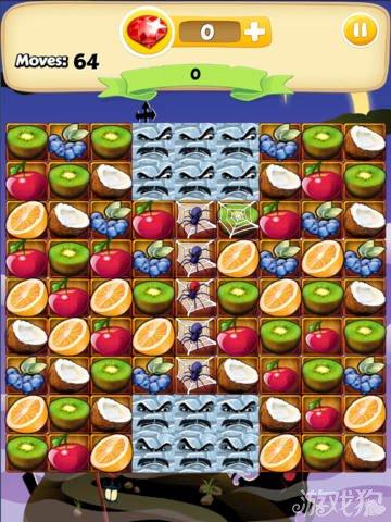 水果碰撞上架双平台 休闲类消除游戏3