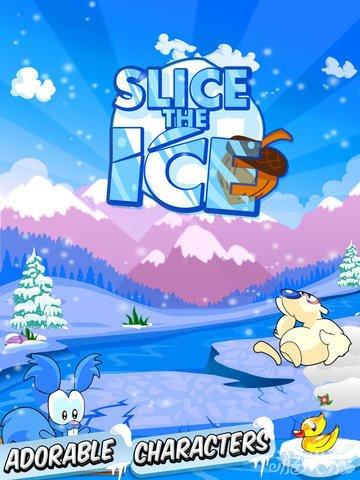 冰块切割上架双平台 益智游戏新作1
