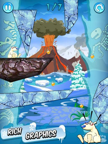 冰块切割上架双平台 益智游戏新作4