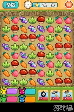 兔兔爱消除上架iOS平台 萌兔爱消除2