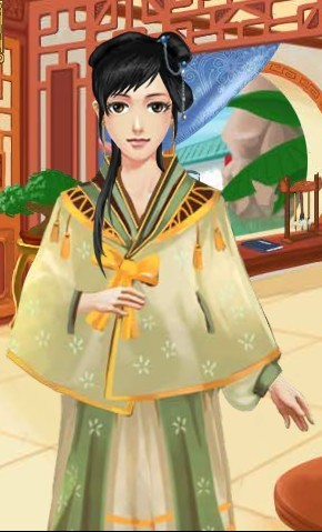 皇后成长计划服装介绍之轻纱斗蓬