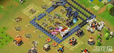 城堡争霸玩家分享防守64%5杀5紫视频1