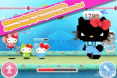 Hello Kitty跑酷已上架 南梦宫万代新作2