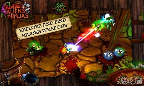 牛仔与忍者大战外星人上架双平台 暴力射击游戏3