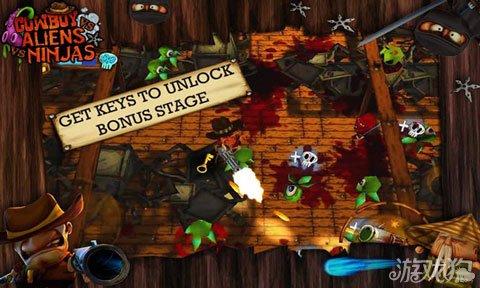 牛仔与忍者大战外星人上架双平台 暴力射击游戏4