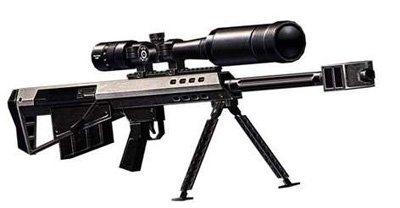天天逆战巴雷特M95使用心得图片