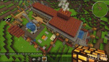 我的世界庭院小别墅