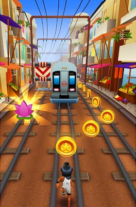 中文名称: 地铁跑酷   英文名称: subway surfers   游戏版本...