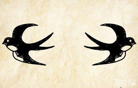 成语玩命猜两只燕子图案是什么成语