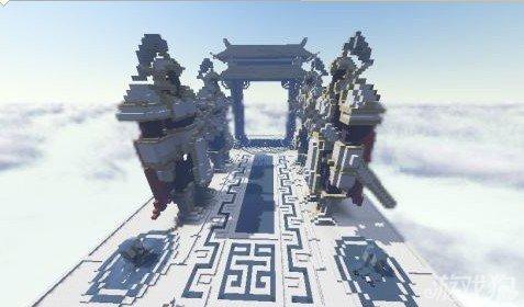 我的世界天宫雕像逼真十足