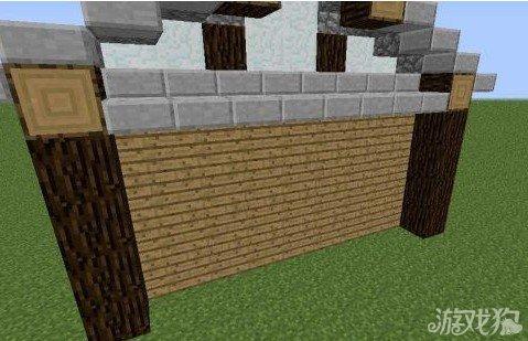 我的世界屋檐小木屋制作方法
