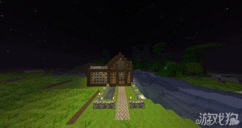 我的世界江边小屋