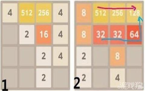 2048遊戲規則詳解答案攻略