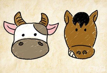 牛头图片 卡通图片
