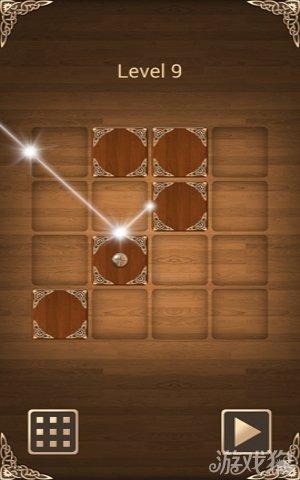 当然实现这样的通关规则,并非很容易:一束早已定位的光线,怎样才能和镜边盒搭配成精妙的反射角度,成为玩家通关所追求的通关效果。那么盒子的移动区域的考究也是避免不了的。