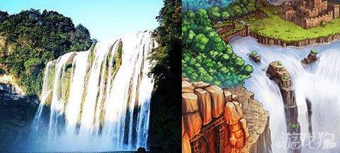 壁纸 风景 旅游 瀑布 山水 桌面 480_216