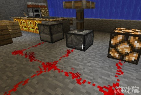 发射器,活塞,红石灯,门