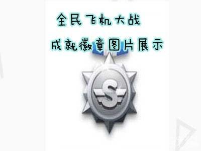 全民飞机大战关于成就徽章图片展示