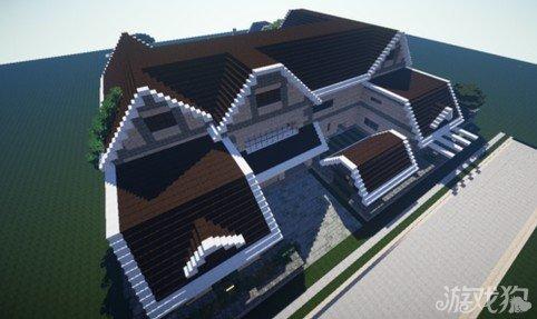 我的世界房子图片_我的世界水上房屋怎么建造房屋建造图文教程