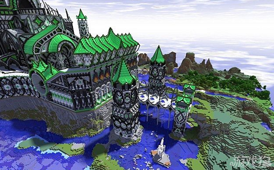 我的世界绿色城堡介绍及分享