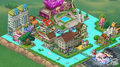 全民小镇整洁温馨梦幻家园设计方案