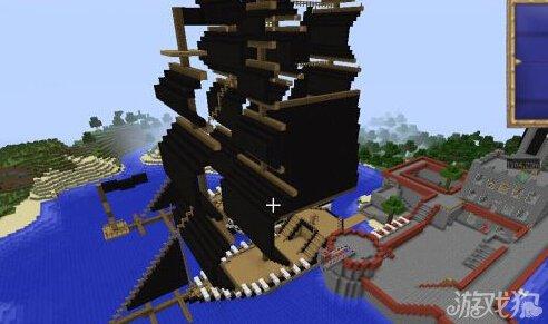 我的世界军事村庄_我的世界海军军事要塞附有军舰