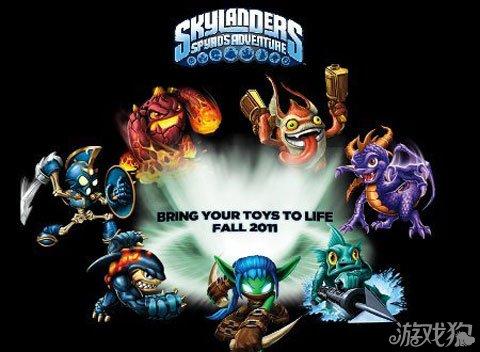 发布手机游戏版Skylanders