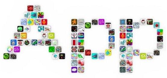 2008年,苹果应用网店发布
