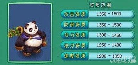 神武手游神兽大熊猫属性培养指南