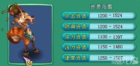 神武手游宠物松果属性技能大公开攻略