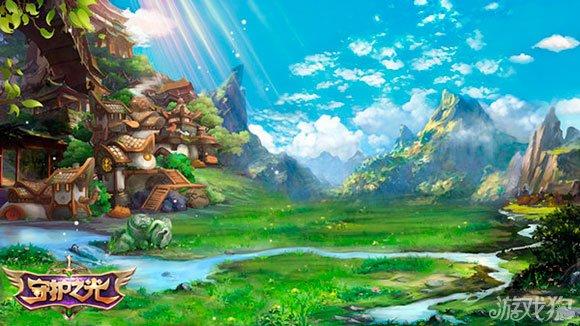 唯美仙境旖旎风光 守护之光游戏场景大曝光