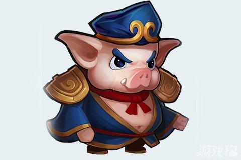 前世作为天蓬元帅的猪猪在这款游戏中主要负责前排,定位于肉盾,前排肉