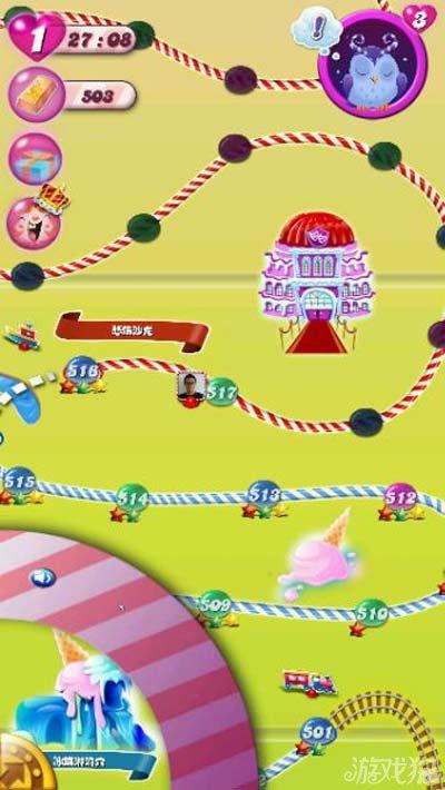 传奇奥都斯模式攻略糖果传奇奥都斯其实就是游戏中那只猫头鹰的名字